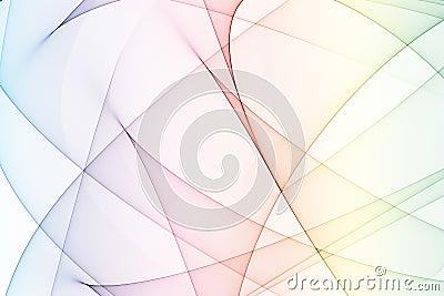 Rainbow Colors Energy Arcs