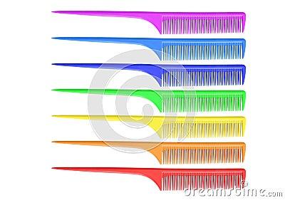 Rainbow comb