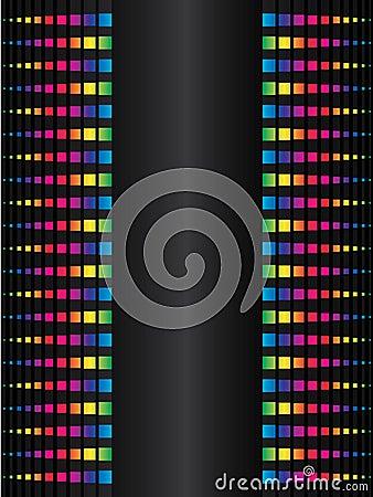 Rainbow dot background