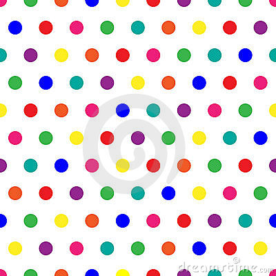 Free Rainbow Dots Royalty Free Stock Image - 6081226