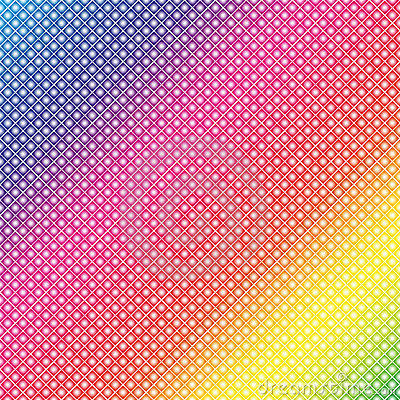Rainbow Dots (Vector)