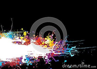 Rainbow drag band