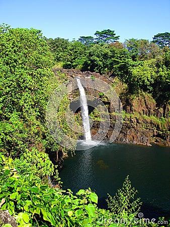 Rainbow Falls, Big Island, Hawaii