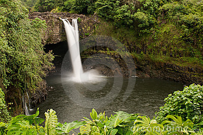 Rainbow Falls, Wailuku River, Hilo, Hawaii