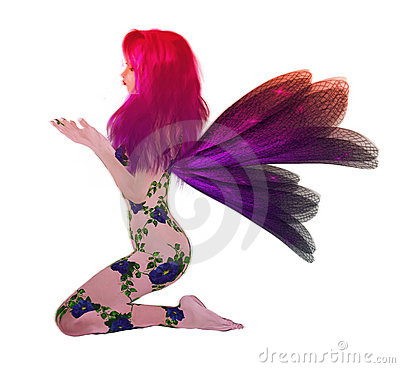 Rainbow Flower Fairy