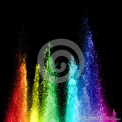 Free Rainbow Fountain Stock Images - 27554124