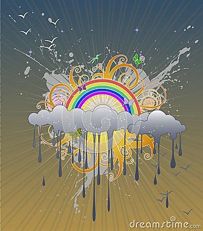 Rainbow Graphic 2