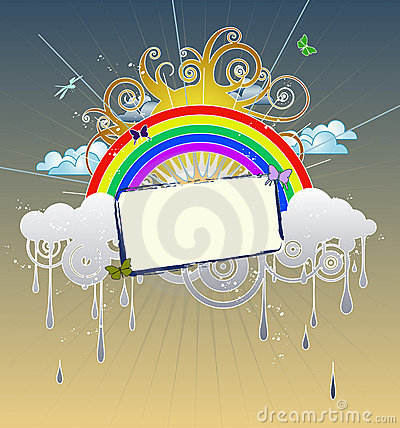 Free Rainbow Graphic Royalty Free Stock Images - 3028359