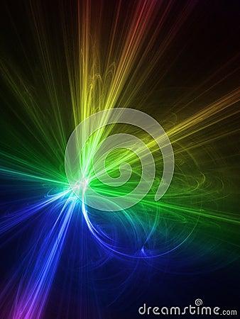 Rainbow graphics