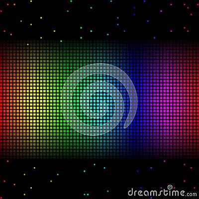 Free Rainbow Grid Stock Images - 13530684