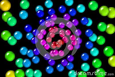 Rainbow Gum Balls