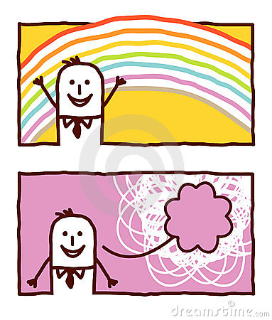 Rainbow & happiness