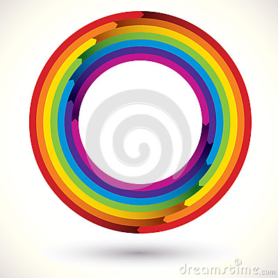 Rainbow icon.