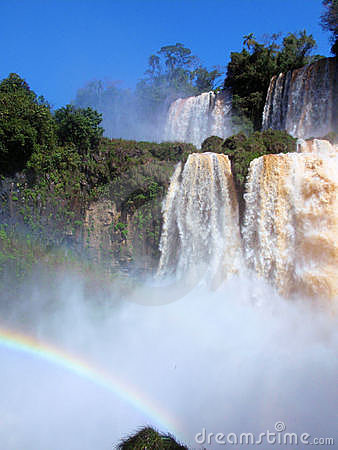 Rainbow at Iguazu