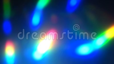 Rainbow iridescent abstract holografisch levend behang stock footage