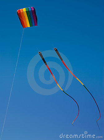 Free Rainbow Kite Royalty Free Stock Images - 5360029