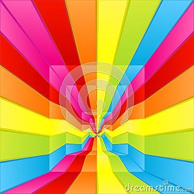Rainbow labyrinth way