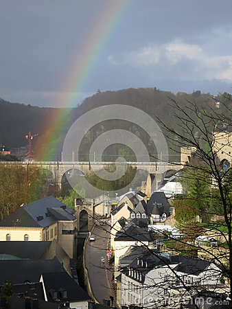 Rainbow in Luxembourg