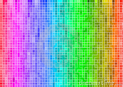 pixel rainbow wallpaper google - photo #13