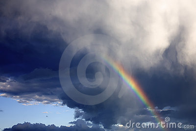 Rainbow nel cielo
