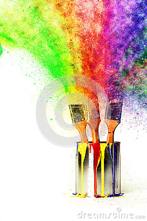 Free Rainbow Of Colors From Primary Colors Royalty Free Stock Photos - 60548008