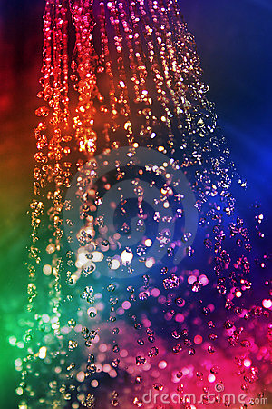 Free Rainbow Of Water Royalty Free Stock Photos - 17888
