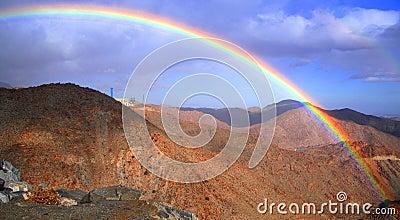 Rainbow over the rumorosa