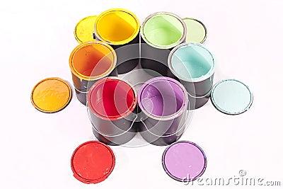 Rainbow Paint Color Wheel