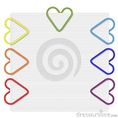 Rainbow Paper Clips