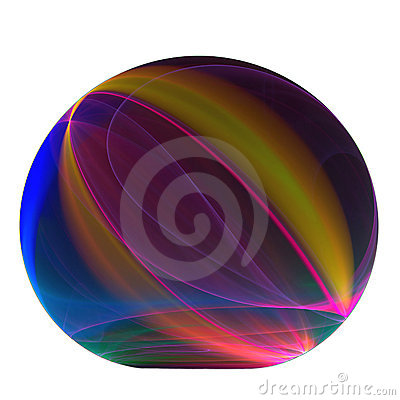 Rainbow paperweight