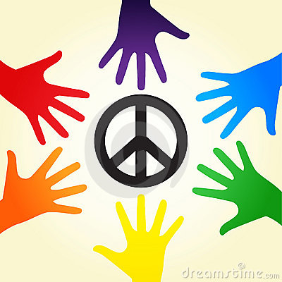 Free Rainbow Peace Stock Photo - 17498160