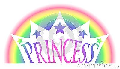 Rainbow Princess Crown