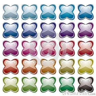 Rainbow pucker variation