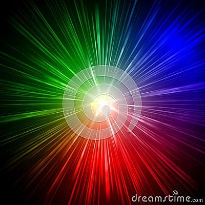 Rainbow rays