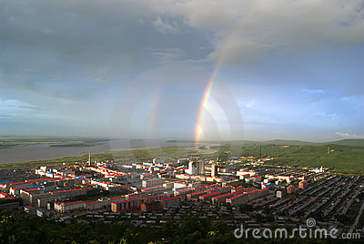 rainbow small city