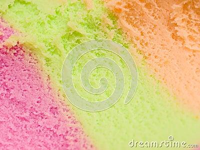 Rainbow sorbet
