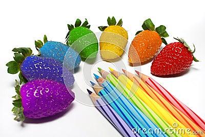 Rainbow Strawberry