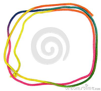 Free Rainbow String Frame Stock Photos - 9817183