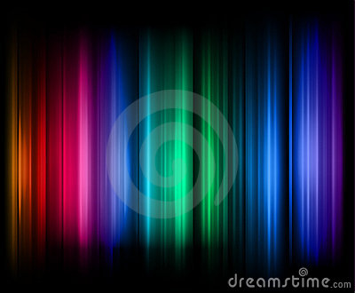 Rainbow stripes abstract background