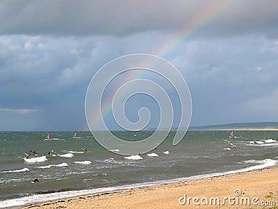 Rainbow surfing