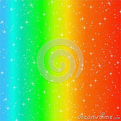 Rainbow swirl sparkles