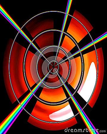 Rainbow Target