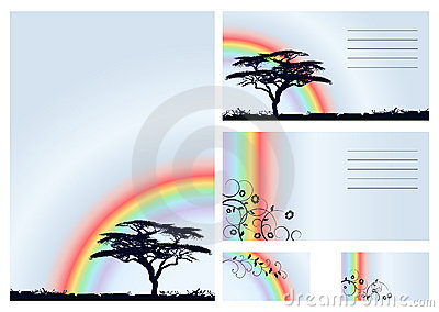 Rainbow - vector set