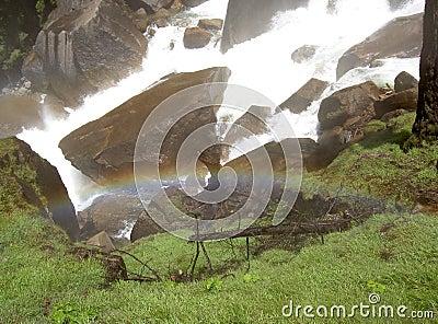 Rainbow at Vernal Falls 2