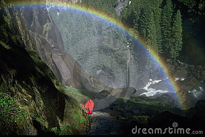 Rainbow at Vernal Falls, Yosemite