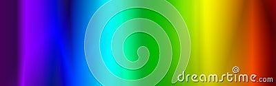 Rainbow web header / banner