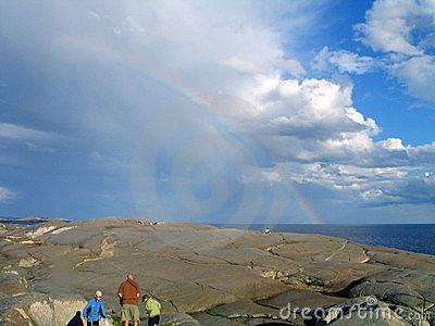 Rainbow?  What rainbow?