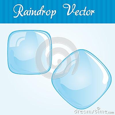 Raindrop square