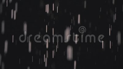 Raindrops in the dark in the lantern light 4 stock video footage