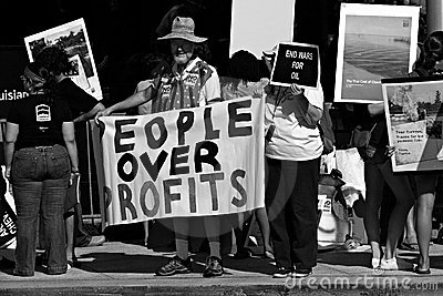 Rainforest Coalition Protest Editorial Image